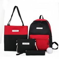 2020 New Backpack Women Solid Color High School Student Bag Men Large Capacity Travel Backpack, Waterproof  Backpack