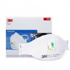 3M Aura 9334CN+ FFP3 Valved Particulate Respirators Disposable Face Mask 10Pcs