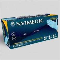 NVIMEDIC Nitrile Glove Powder Free Examination Gloves