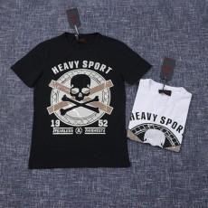 2020 JET FUEL Camisetas Caveira Atacado Small Rhinestone T-shirt Transfer Skull T-Shirts Fashion For Man