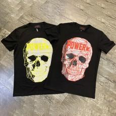 2020 Fashion Style JET FUEL Camiseta De Calaveras En 3D Skeleton Tee Shirt Skull T-Shirt Black Tshirts In Bulk