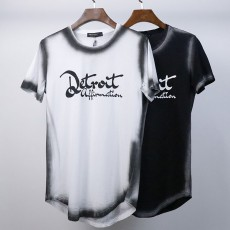 JET FUEL 100% Cotton Tee Shirts Two Tone T-Shirt Curved T Shirts Dye Tshirt T Shirt High Quality 2020 For Man