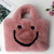2020 Autumn And Winter New Style Women's Smile Bag Smiley Face Bag Plush Cute Sweet Bag For Girls 4