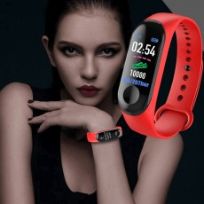 M3 New Sports Pedometer Heart Rate And Blood Pressure Monitoring Personalized WeChat Sports Smart Bracelet