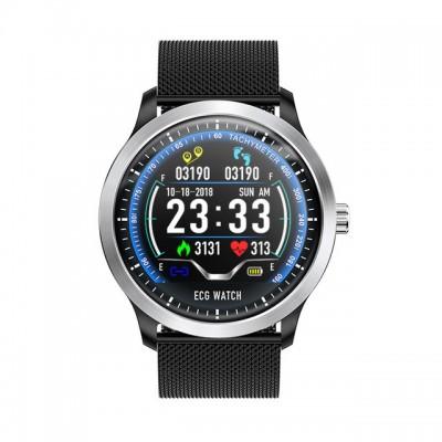 N58 Steel Band Smart Watch ECG ECG+PPG Sports Waterproof Bracelet HRV Report Blood Pressure Heart Rate Test