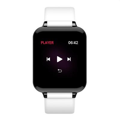 B57C Bluetooth Waterproof Screen Heart Rate Blood Pressure Oximeter Step Smart Bracelet Watch