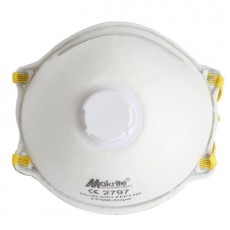 Makrite CE2797 Disposable Respirators FFP3 NR with Exhalation Valve FP3SLAVpw