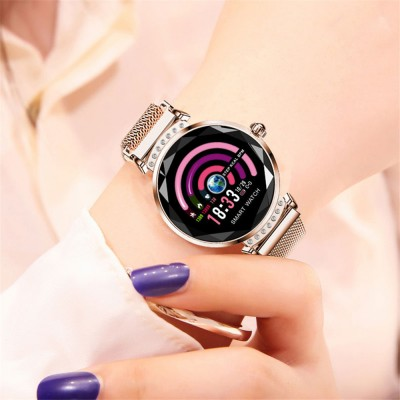 H2 Female Sports Mode Smart Bracelet 1.04 Large Screen Heart Rate and Blood Pressure Bluetooth Step Watch