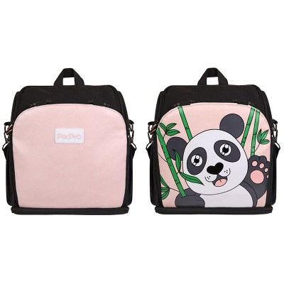 2020 New Portable Children's Special Dining Chair Bag Children's Raised Dining Chair Mummy Bag With Cute Panda Pattern