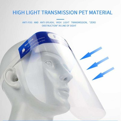 Protective Face mask Anti-droplet Eye Protection Anti-fog High-Definition Face Screen Full Face Anti-face Double-sided Oil Splash Protection