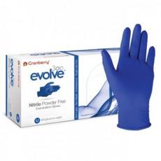 Cranberry Evolve 300 Nitrile Powder Free Examination Gloves 400 Mil Boxes/Month
