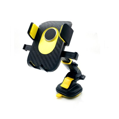Car Center Console Windshield Telescopic Long Pole Car Mobile Phone Rotating Navigation Suction Cup Bracket