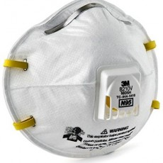 3M 8210V N95 FFP2 95% Bacteria Mask Particulate Respirator Anti Virus Flu, Smoke, Dust, Grinding, Sanding, Sweeping