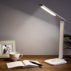 Creative Stylish Energy-conservation Mute Magnetic Suspension Light Table Lamp with Inductive Switch Anti-skid Base