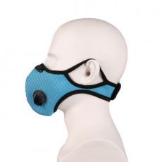 Cycling Mask Dust-proof Smog Activated Carbon Replaceable Filter Element Outdoor Running Sports Mask with Breathing Valve