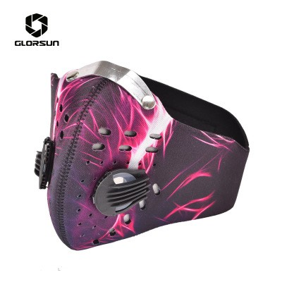 GLORSUN Customized Running Sports Dust Mask Activated Carbon Haze Windproof Cycling Mask