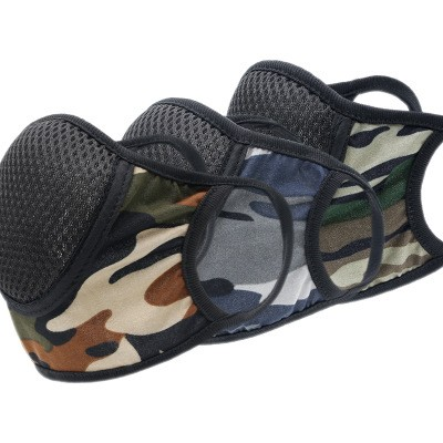 Cotton Camouflage Masks Outdoor Sports Cycling Sunscreen Dustproof and Breathable Masks