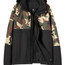 New Spring Print Jacket Men's Camouflage Korean Youth Hooded New Casual Jacket Tide Men's Spring And Autumn Clothes