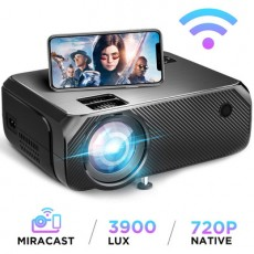 Hibeamer GC555 Mobile Phone Wireless Same Screen Home LED Projector HD 1080P Projector