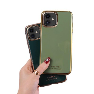 Suitable For iPhone11 Mobile Phone Shell 6D Electroplating TPU Apple SE2 Creative 7plus Protective Cover XSMax Anti-fall Shell
