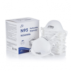 【Wholesale SANQI N95】Particulate Respirator Face Mask with NIOSH/CE/FDA from 1,000pcs