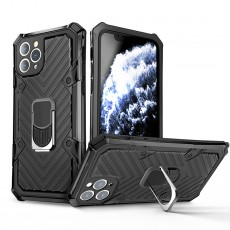 Suitable for iPhone12 Lightning Armor Mobile Shell Apple 11Pro Metal Anti-fall Protective Case
