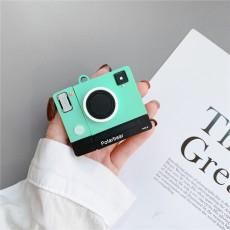 Retro Creative Cute Camera AirPods Cover Universal Silicone Apple Bluetooth Earphone Case for Women