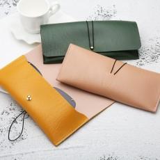 Fashionable Personality Sunglasses Storage Bag Leather Glasses Case Soft Bag Multicolor PVC Leather Glasses Case