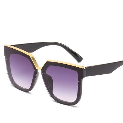 2020 New Box Sunglasses European And American Fashion Metal Accessories Sunglasses All-match Glasses