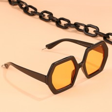 2020 Personalized Chain Sunglasses European And American Exaggerated Octagonal Sunglasses Women Fashion Glasses Sunglass
