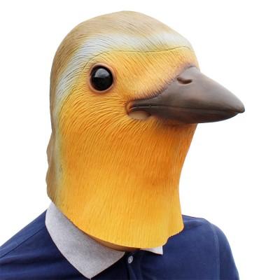 Halloween Carnival Cosplay Animal Mask Robin Bird Headgear Robin Bird Mask