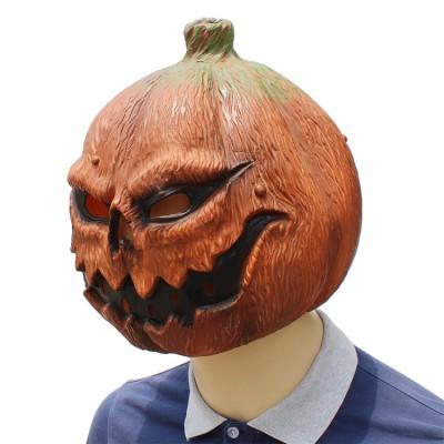 Halloween Clown Pumpkin Mask Horror Funny Dance Party Mask Costume Play Cos Props Pumpkin Mask 38*29*33 CM