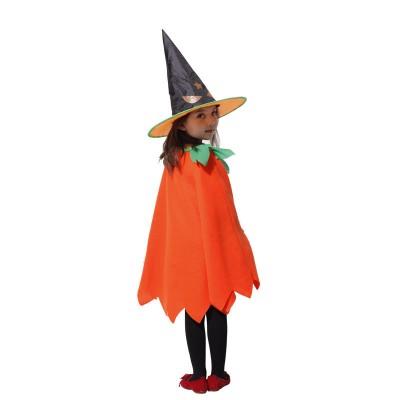 Halloween Cosplay Performance Costume Children's Ghost Festival Pumpkin Festival Christmas Supplies Pumpkin Suit Clothes