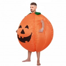 Halloween Pumpkin Costume Pumpkin Inflatable Costume Ghost Festival Stage Performance Cartoon Doll Walking Inflatable Costume Factory