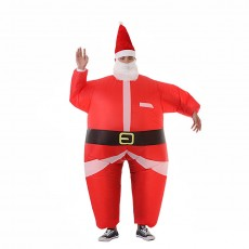Christmas Santa Claus Costumes Santa Claus Inflatable Clothes Cosplay Funny Party Activities Dance Props