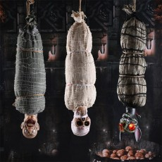 Halloween Ghost Festival Horror Decoration Big Hanging Ghost Bar Haunted House Escape Room Decoration Props Scary Voice Control Hanging Ghost