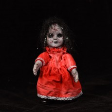 Halloween Toys Funny Props Walking Ghost Doll Cute Decoration Luminous Creative Ornaments Layout Wholesale