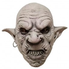 New Latex Halloween Headgear Horror Mutant Goblin Mask Prom Mask Haunted House Secret Room Dress Up Props