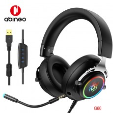 RGB Headset Gaming Wired Ps4 Computer Xbox Universal Headset USB Microphone 7.1 Internet Cafe Game Headset