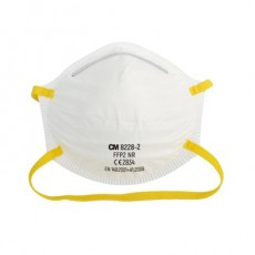 CM 8228-2 Particle Fintering Half Mask FFP2 NR Foldable Industrial Dust Mask Anti-Smog CE2834