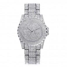 Gold Four-Color Quartz Watch Fashion Trend Casual Suit Steel Belt Starry Ladies Watch