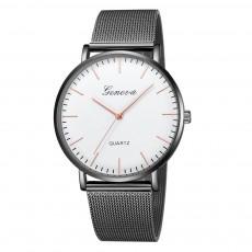Hot-selling Geneva Mesh Strap Watch Geneva Classic Fashion Casual Couple Watch