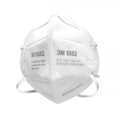 3M 9552 Particulate Protective Headband Respirator Anti-industrial Dust Anti-smog and Anti-PM2.5 N95 Face Masks