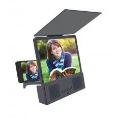8.5 Inch Bluetooth Speaker Phone TV Stand Amplifier 3d HD Video Phone Screen Amplifier