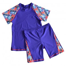 2020 Autumn And Winter Hot Spring New Children's Swimsuit Big Children Flat Angle Split For Boys
