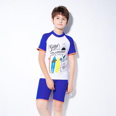 Innovative New Children's Swimwear For Older Children And 10-15 years old split Boys