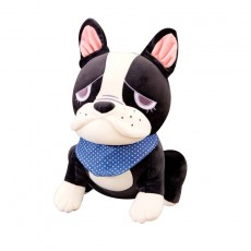 Simulation Bulldog Plush Toy Cartoon Dog Doll Children Birthday Gift For Boy And Girls