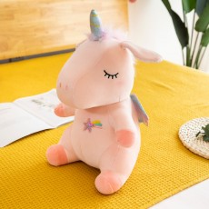 Down Cotton Unicorn Plush Toy Cartoon Doll Mythical Animal Pony Doll Claw Machine Doll