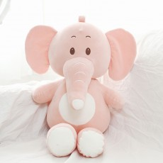 New Down Cotton Elephant Plush Toys Children's Soothing Elephant Dolls Birthday Gift