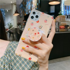 Blu-ray IMD Cartoon iPhone 11 Mobile Phone Case For iPhoneXR Bracket Soft Silicone XSmax Cover